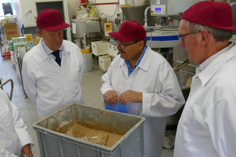 Landrat Sebastian Schuster besucht Bäckerei Quelle: Rhein Sieg Kreis
