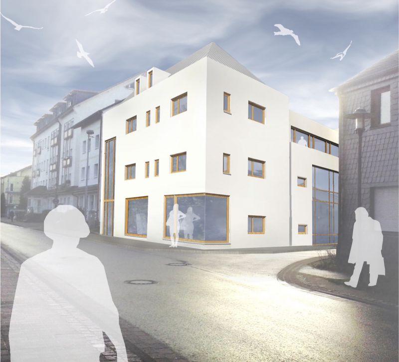 Neubau eines Ärztehauses im Zentrum von Hennef