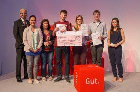 Deutscher Gründerpreis für Schüler Siegerehrung in Brühl am 14.6.2016_2. Platz