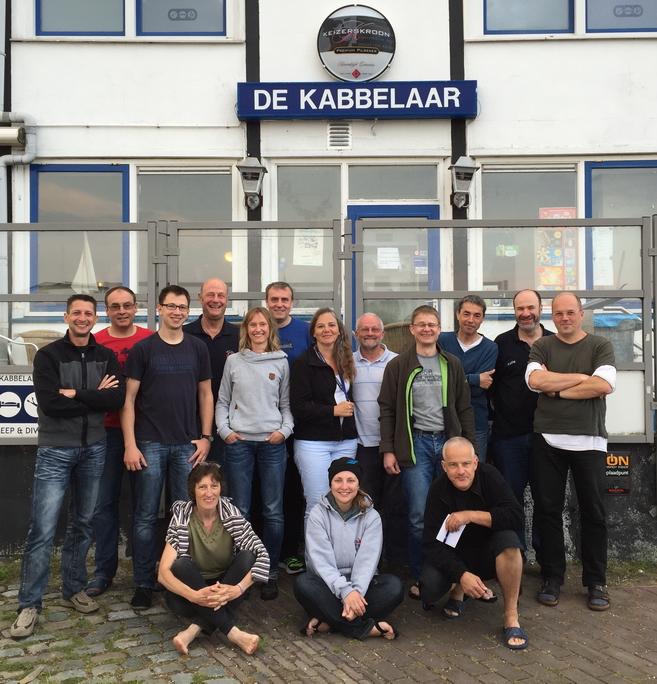 Taucher zu Gast in Holland