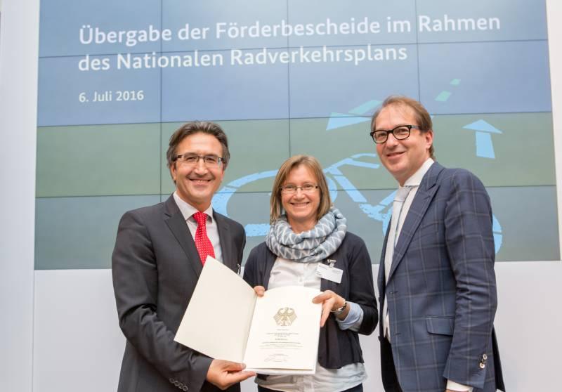 Pedelec verstärkt in den Alltag integrieren – Rhein-Sieg-Kreis erhält Fördermittel des Bundes Quelle: rhein-sieg-kreis