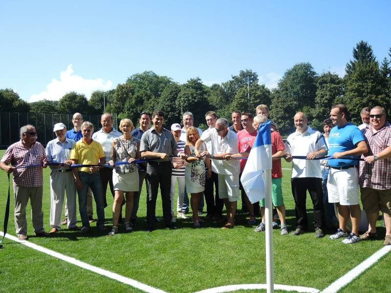 SV Birlinghoven feiert große Einweihung Quelle: Stadt Sankt Augstin