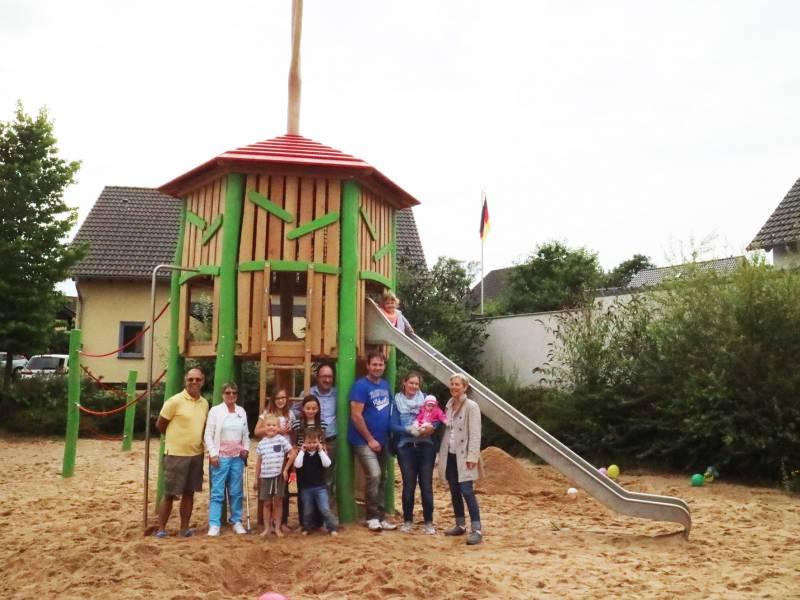 Neugestaltung des Spielplatzes Quelle: Stadt Hennef
