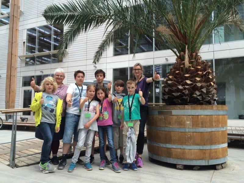 Workshop unter Palmen Quelle: Stadt Sankt Augustin
