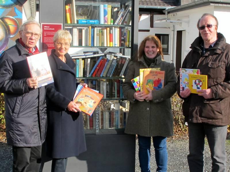 Offener Bücherschrank der BürgerStiftungLohmar – Inklusion und Integration Quelle: Bürgerstiftung Lohmar