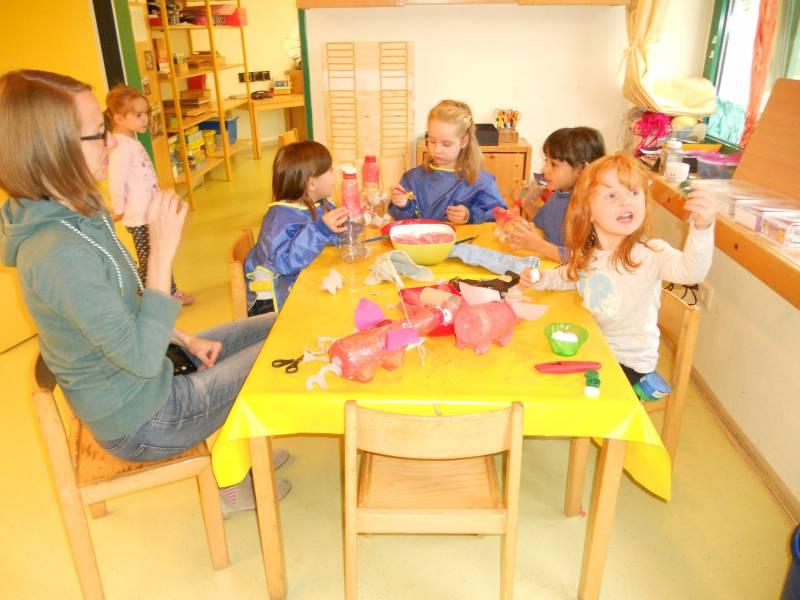 Jabachkindergarten-Kinder nahmen beim Müll Projekt der RSAG teil Quelle: Stadt Lohmar