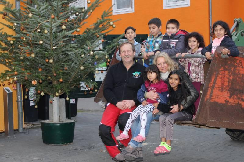 Vorweihnachtliche Stimmung am Dammweg Quelle: Stadt Lohmar