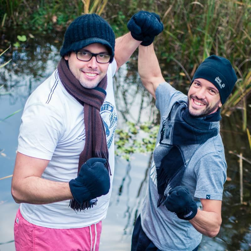 """Regionale Unternehmer machen mit beim  """"1. Lohmarer Heldensprung"""" Quelle: Heldensprung"""
