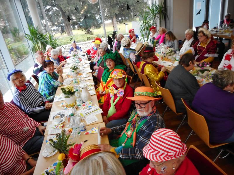 """""""Senioren janz jeck"""" Karnevalssitzung in der Villa Friedlinde war voller Erfolg! Quelle: Stadt Lohmar"""