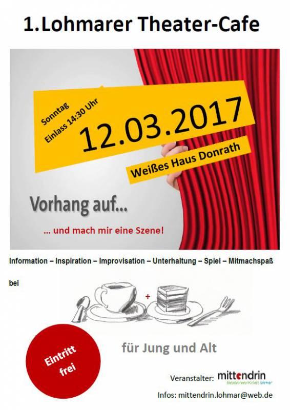 Weltweit 1. Lohmarer Theater-Cafe Quelle: Stadt Lohmar