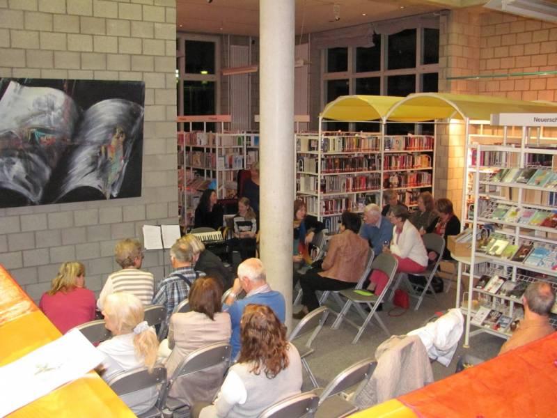 Nacht der Bibliotheken: volles Haus bis spät in die Nacht Quelle: Stadt Lohmar