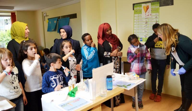 Angebot im Mehrgenerationenhaus:  Richtige Zahnpflege für Kinder Quelle: Stadt Troisdorf