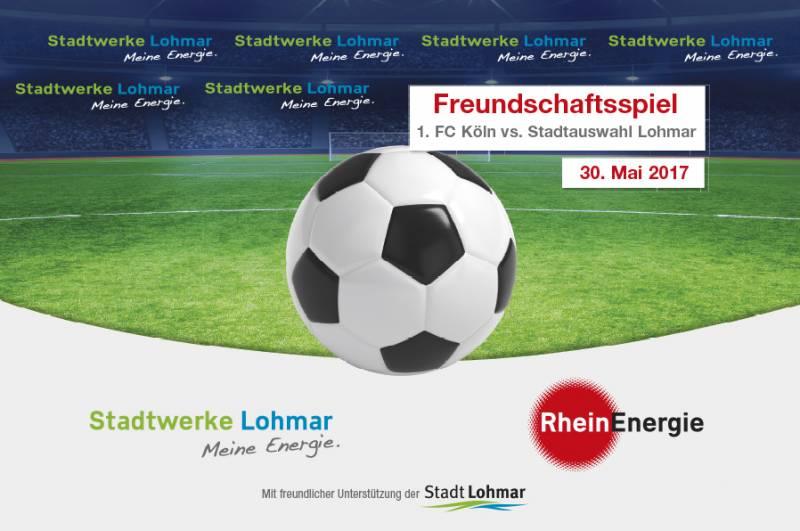 Vorverkauf für FC-Spiel erfolgreich gestartet Quelle: Stadtwerke Lohmar