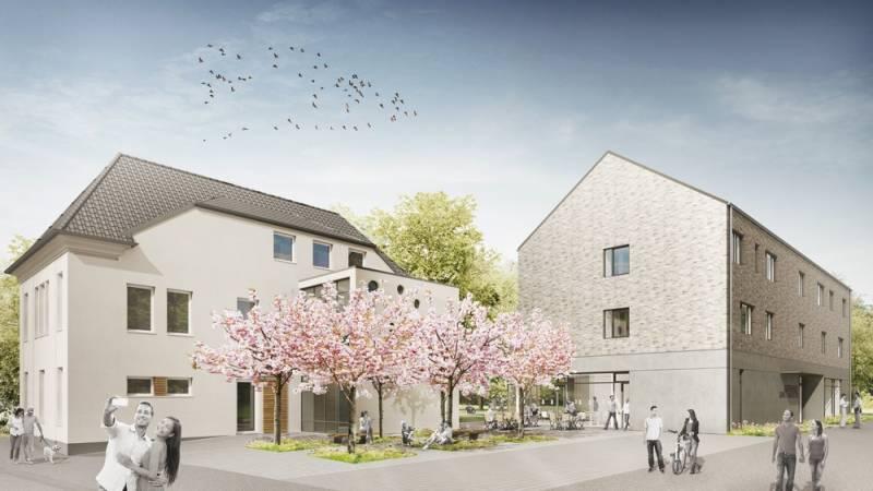 Umbau und Neubau des Jugendzentrums geht in die nächste Phase Quelle: Stadt Sankt Augustin