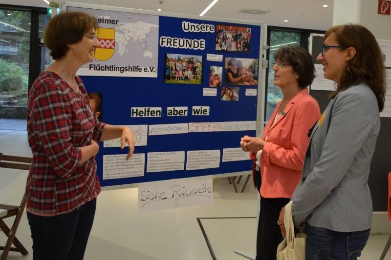 Anhaltendes Engagement Fachforum für ehrenamtliche Helferinnen und Helfer in der Flüchtlingsarbeit