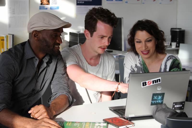 Spannende Erfahrungen aus der Begegnung mit Medienschaffenden Quelle: Stadt Troisdorf
