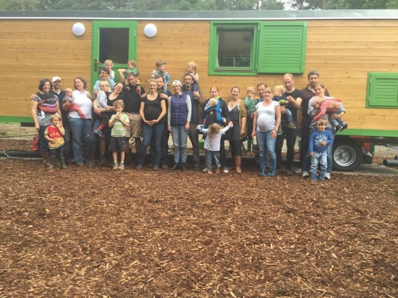 Die ersten Frischlinge im Pleiser Wald Förderer und Spender für WaldKiTa gesucht