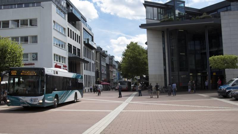 Schüler demonstrieren für klimafreundliche Politik Quelle: Stadt Siegburg