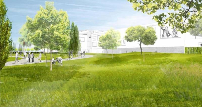 Alter HUMA-Parkplatz wird geschlossen Bauarbeiten für Parkanlage im Zentrum starten im Oktober