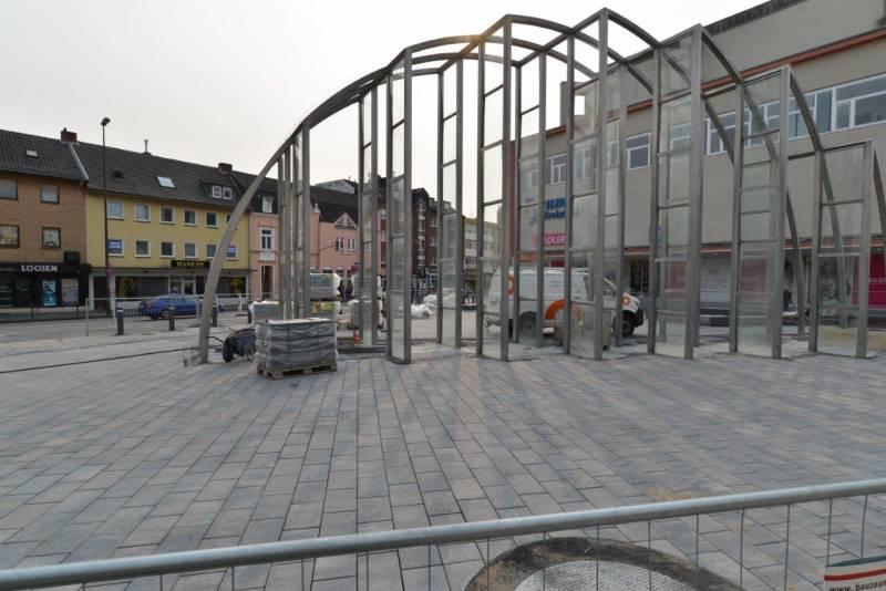 ZiTi informiert Neue Fußgängerzone: 4. Bauabschnitt kurz vor dem Abschluss