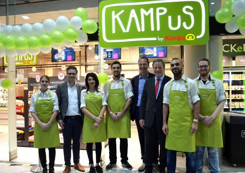KAMPuS by Kamps Die bekannteste Bäckereimarke Deutschlands eröffnet ihr erstes Convenience-Konzept am Flughafen Köln/Bonn