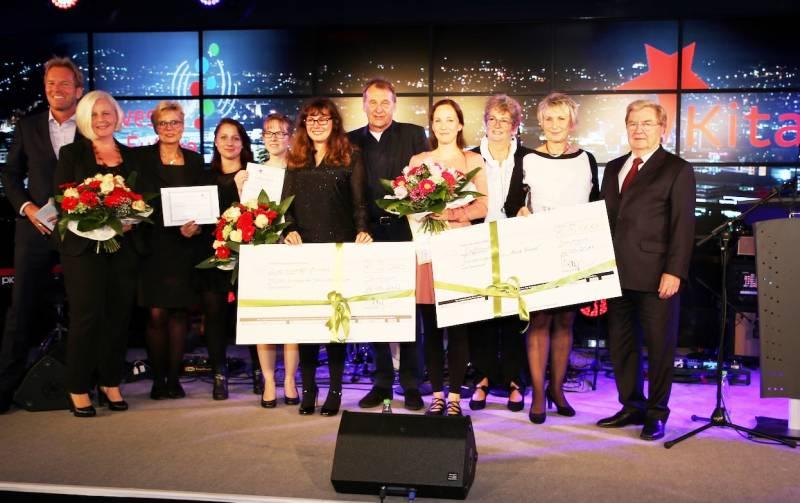 Stiftung zeichnet Troisdorfer Kita aus Kita Am Burghof bei den KitaStars 2017