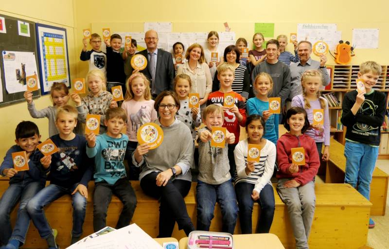 Die Kulturstrolche sind unterwegs Bildungs- und Kulturprojekt in Troisdorf