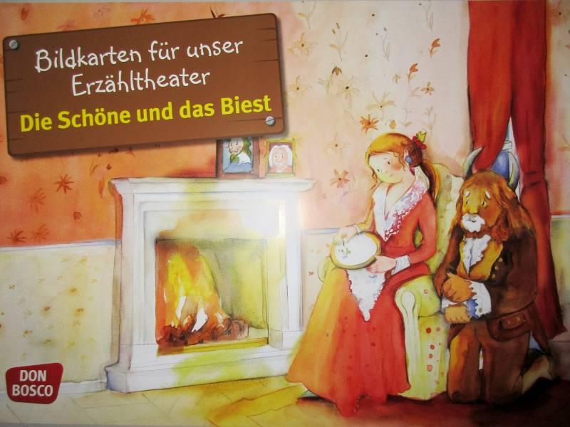 Die Schöne und das Biest in Sieglar Märchenstunde in der Stadtbibliothek Sieglar