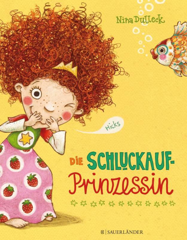 Papa-Zeit in der Stadtbibliothek Schluckaufprinzessin im Bilderbuchkino