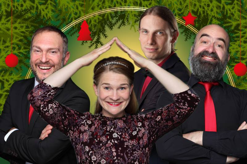 Springmaus: MERRY CHRISTMAUS 2017 Winterwunderimprovisationstheater am 10. Dezember 2017