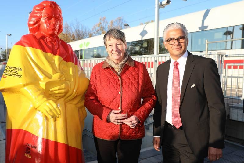 Sonderzug brachte deutsche Delegation nach Bonn COP23