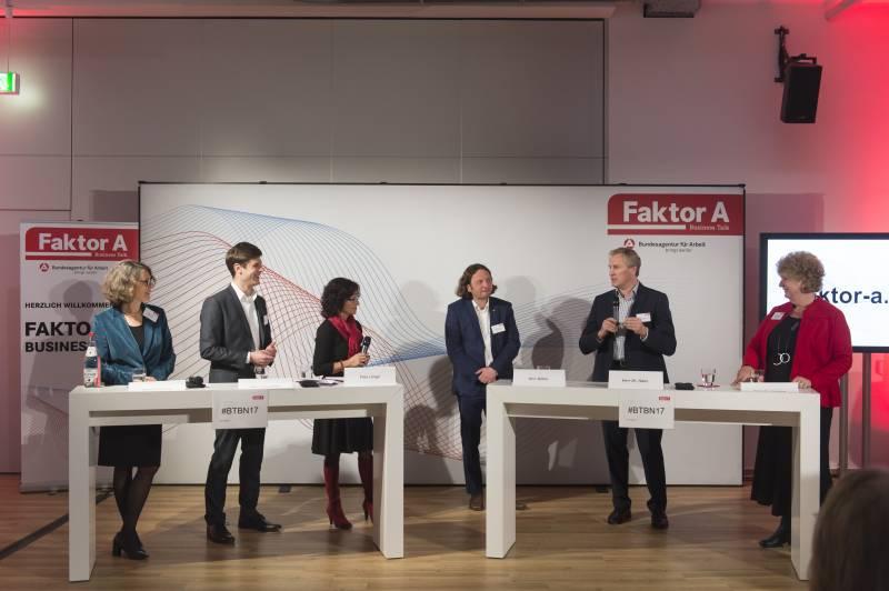 Faktor A – Business Talk der Arbeitsagentur Was heißt Digitalisierung der Arbeitswelt?
