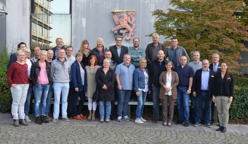 Stellenbewertung, Telearbeitsplätze und vieles mehr Personalrätekonferenz im Siegburger Kreishaus