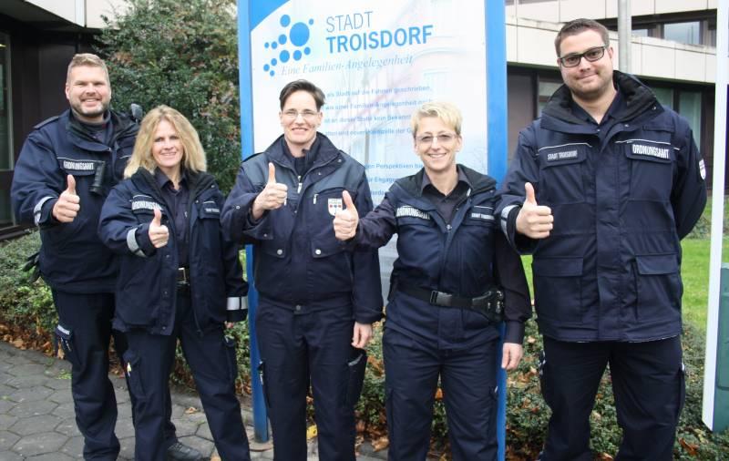 Mehr Personal für mehr Sicherheit Ordnungsdienst der Stadt Troisdorf