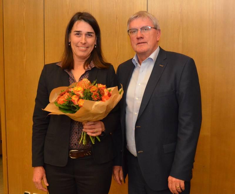 Svenja Udelhoven zur allgemeinen Vertreterin des Landrats bestellt Quelle: Rhein Sieg Kreis