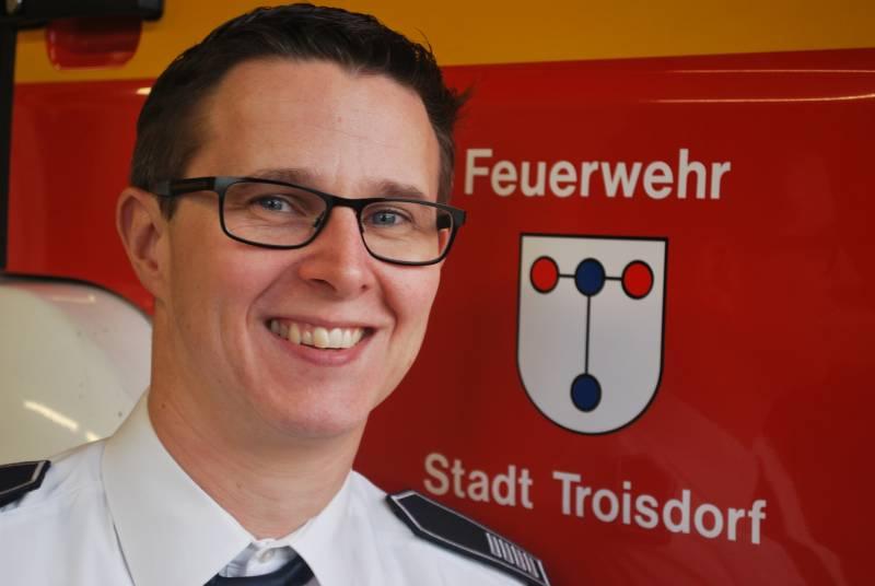 Hauptamtliche Wache der Feuerwehr Troisdorf Lars Gödel neuer Amtsleiter für Feuerschutz und Rettungsdienst