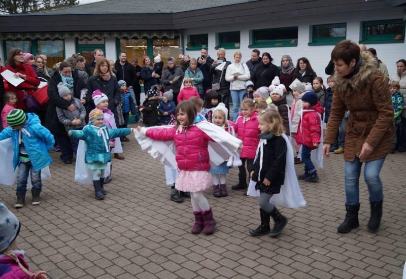 Winterzauberfest im Jabachkindergarten Quelle: Stadt Lohmar