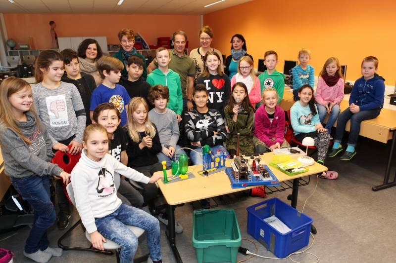 """Waldschule Lohmar: """"Energie erleben und verstehen"""" Quelle: Stadtwerke Lohmar"""