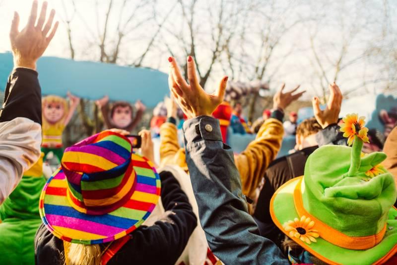 Karnevalsumzüge im Rhein-Sieg-Kreis Siegburg,Sankt Augustin,Hennef,Troisdorf,Much und Eitorf