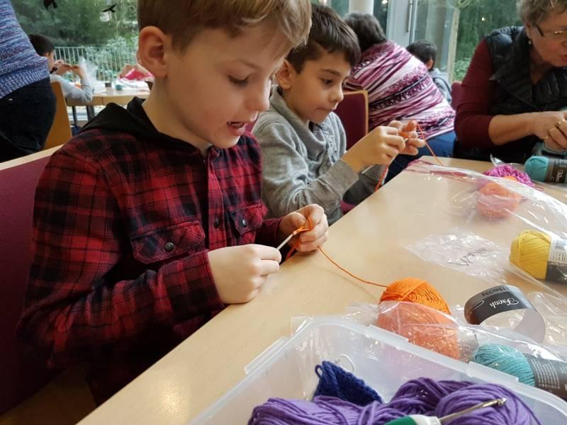 Kinder Lernen Häkeln In Der Villa Friedlinde Rhein Sieg Tv Lokal