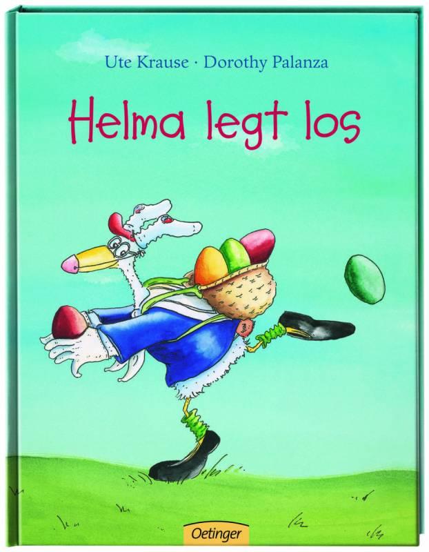 Helma legt los – kurz vor Ostern Hör' zu, mach' mit in der Stadtbibliothek