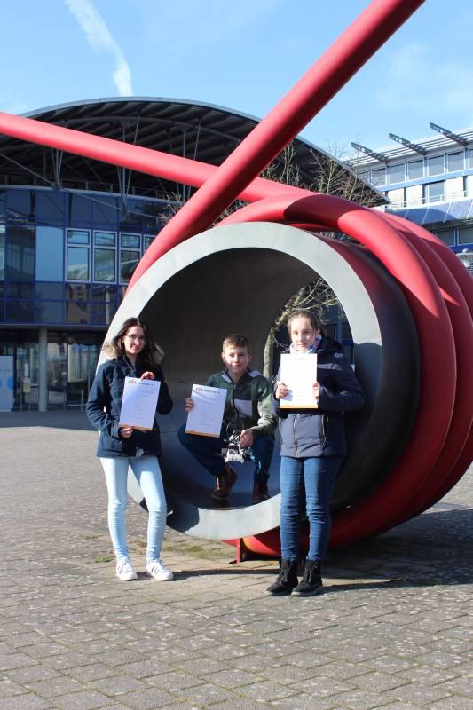 GEHW nimmt am RoboCup teil Quelle: Gesamtschule Hennef-West