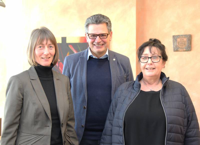 Bürgermeister begrüßte Gleichstellungsbeauftragte Quelle: Stadt Hennef
