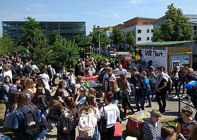 Aktionstag gegen Homophobie im Jugendpark Quelle : Stadt Hennef