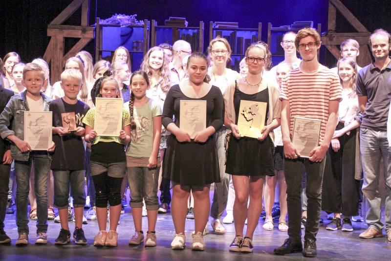 Kobolde für hervorragende Schultheater-Aufführungen Quelle: Theatergemeinde BONN