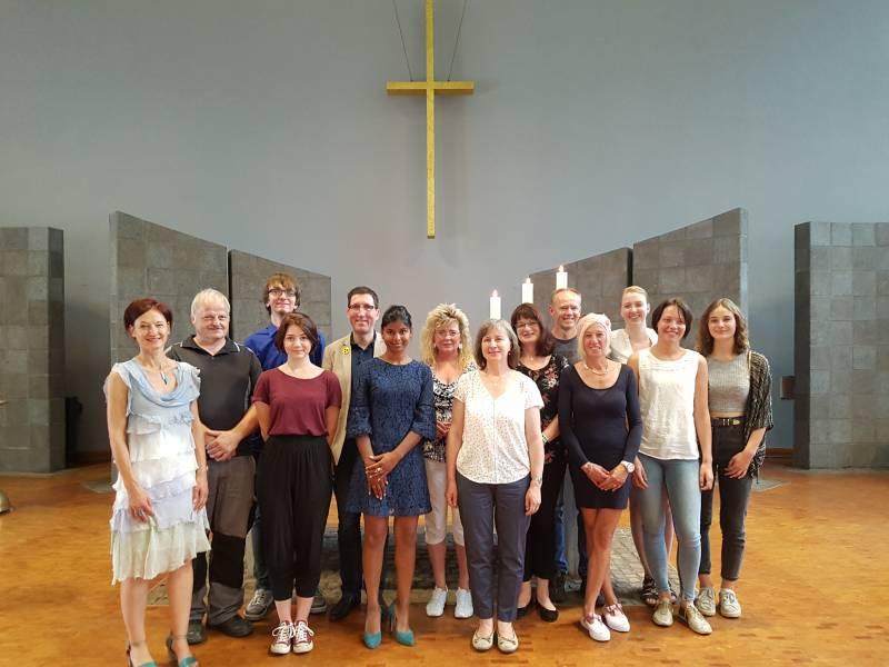 Kirchenkreis begrüßt neue Mitarbeiter, dankt Scheidenden Quelle: Evangelischer Kirchenkreis An Sieg und Rhein