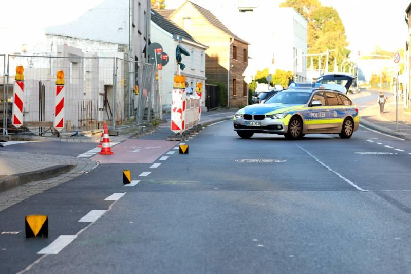 Verkehrsunfall in Siegburg Fußgängerin schwer verletzt