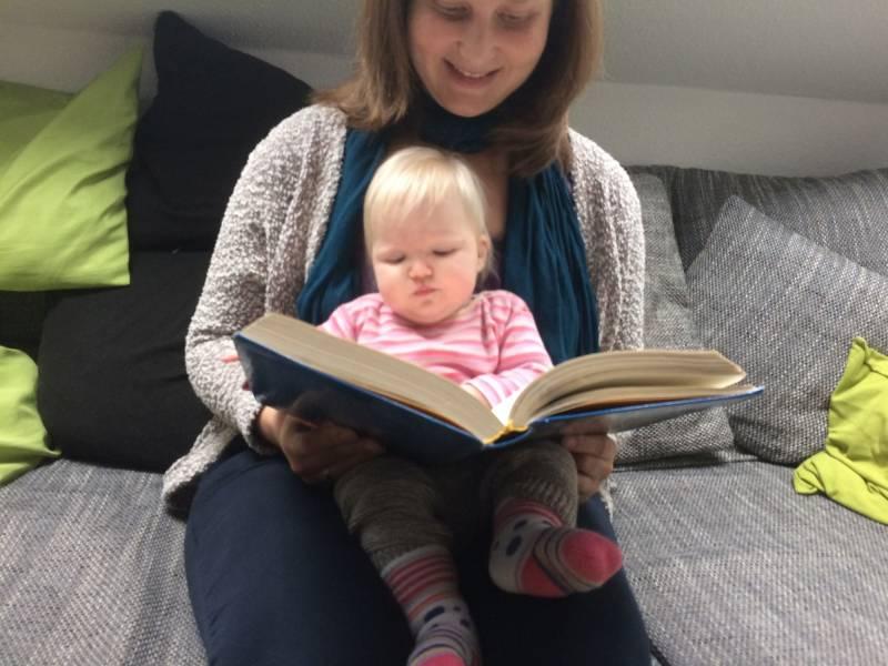 Bücher-Babys in der Stadtbibliothek Wahlscheid – Es geht wieder los! Quelle: Stadt Lohmar