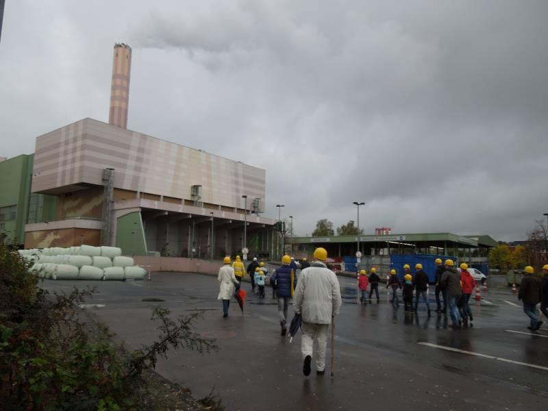 Wie aus Müll Energie werden kann – Besichtigung der Müllverwertungsanlage Bonn Quelle: Stadt Sankt Augustin