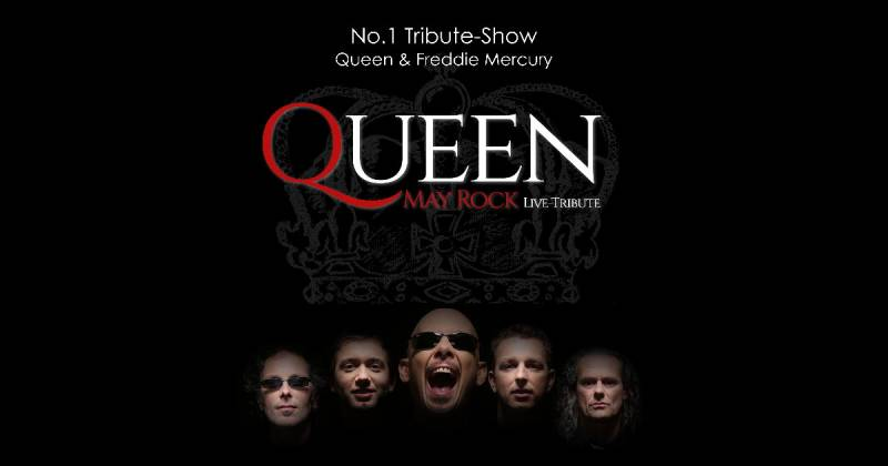 No.1 Tribute to Queen and Freddie Mercury … QUEEN MAY ROCK Quelle: kabelmetal gGmbH